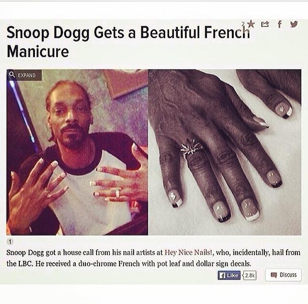 snoop dog manicure