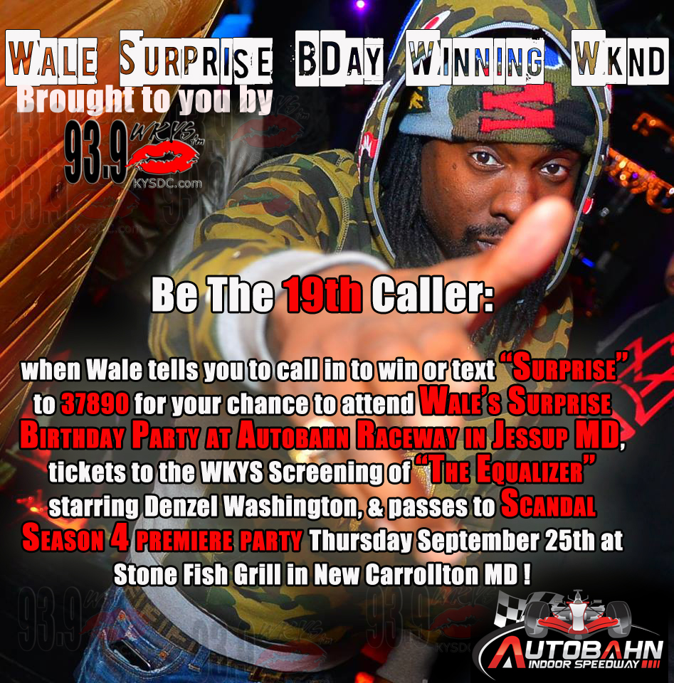 Wale BDAY
