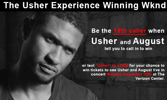 The Usher Experience Winning Wknd