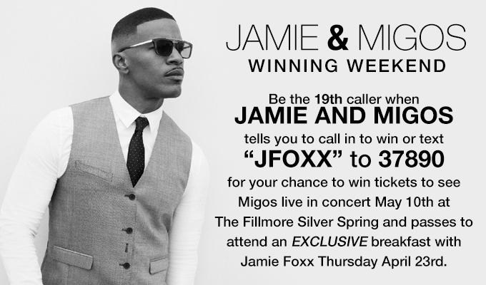 Jamie & Migos Winning Weekend