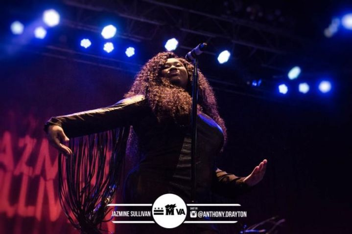 Jazmine Sullivan at The Fillmore Silver Spring