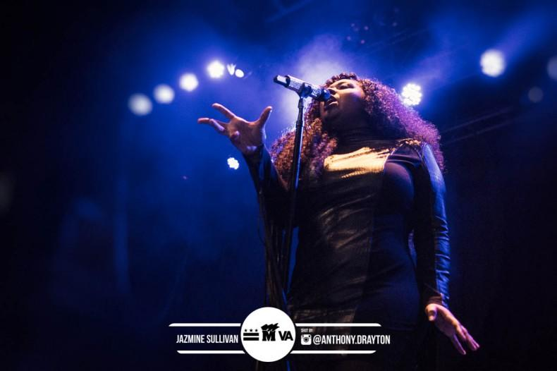 Jazmine Sullivan at The Fillmore Silver Spring
