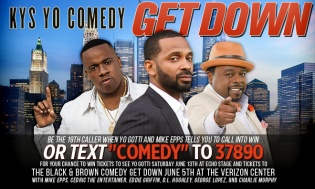 KYS Yo Comedy Get Down Winning Weekend Text-To-Win Sweepstakes