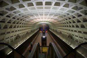 The streets of DC have become a ghost town with the Government's Shutdown