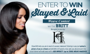 BRITT'S SLAYED AND LAID WEAVE_Contest