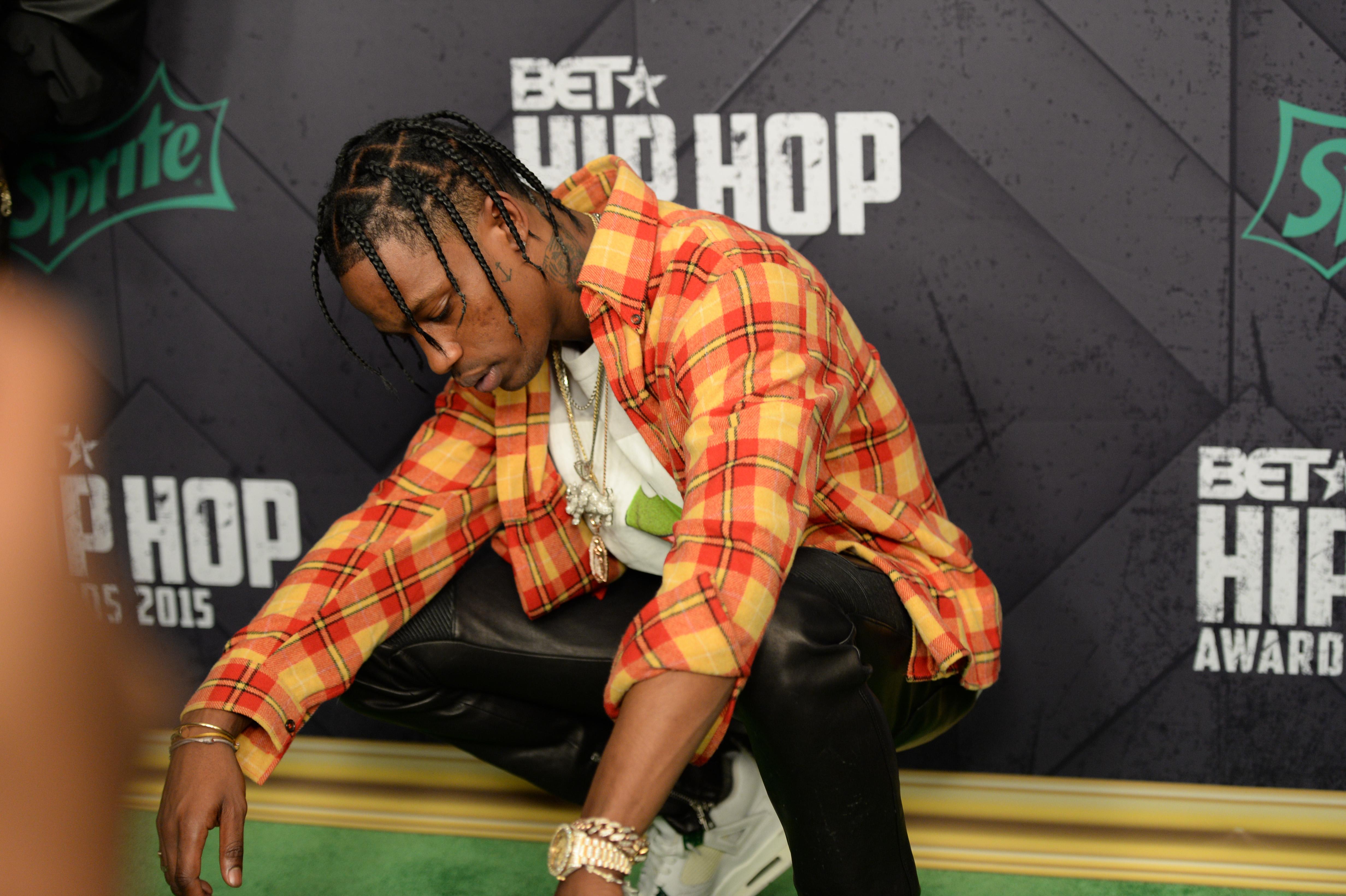 Travis Scott at the 2015 BET Hip-Hop Awards