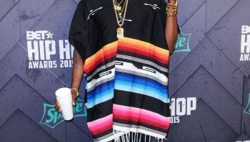 2 Chainz at the 2015 BET Hip-Hop Awards