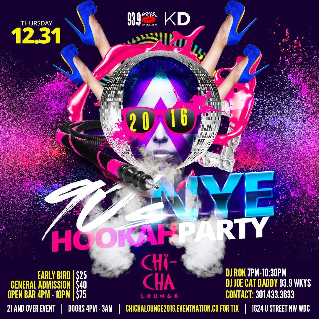 NYE Hookah Party