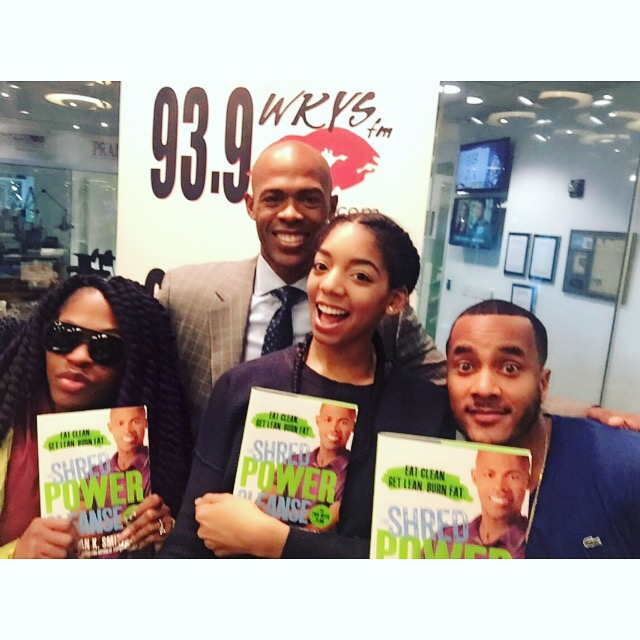 Dr. Ian Smith With Fam In The Morning
