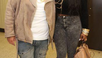 Celebrity Sightings In New York - February 12, 2015