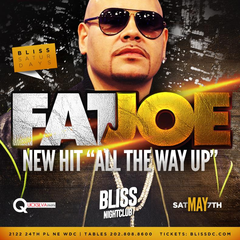 Fat joe at Bliss