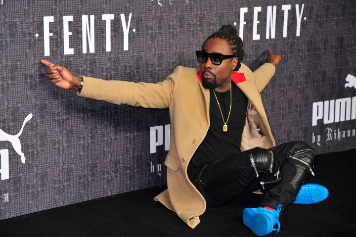 Wale at FENTY x PUMA by Rihanna Fall 2016 New York Fashion Week