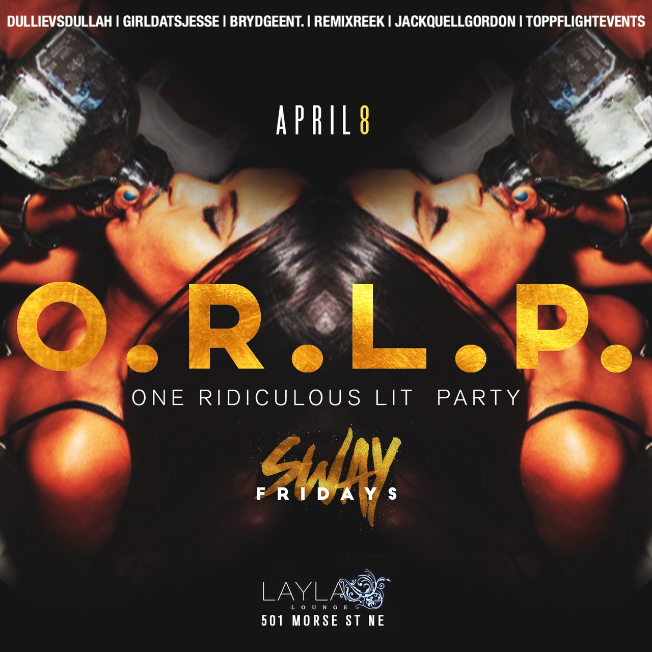 One Ridiculous Lit Party