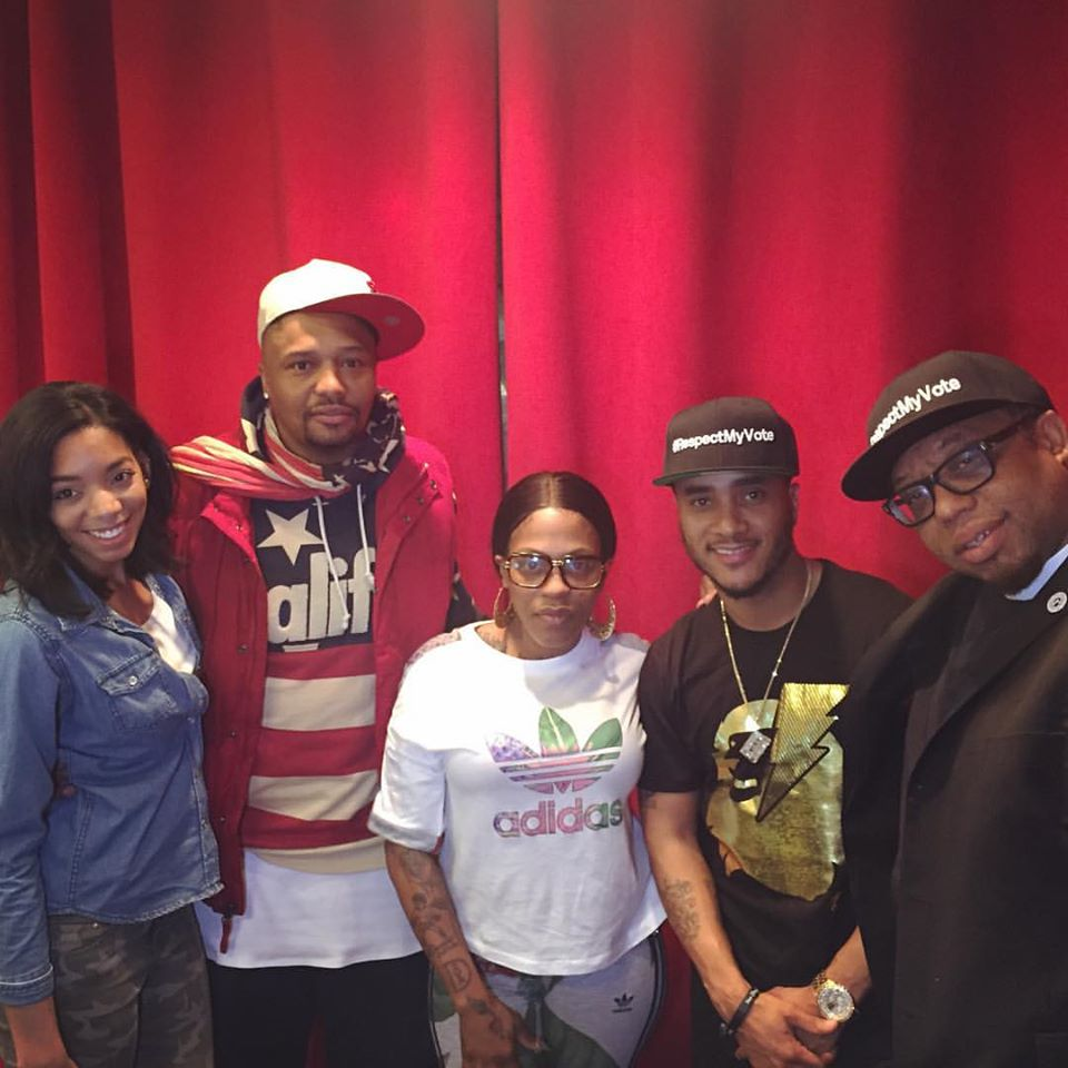 Rev. Yearwood & Malik Yusef With The Fam In The Morning