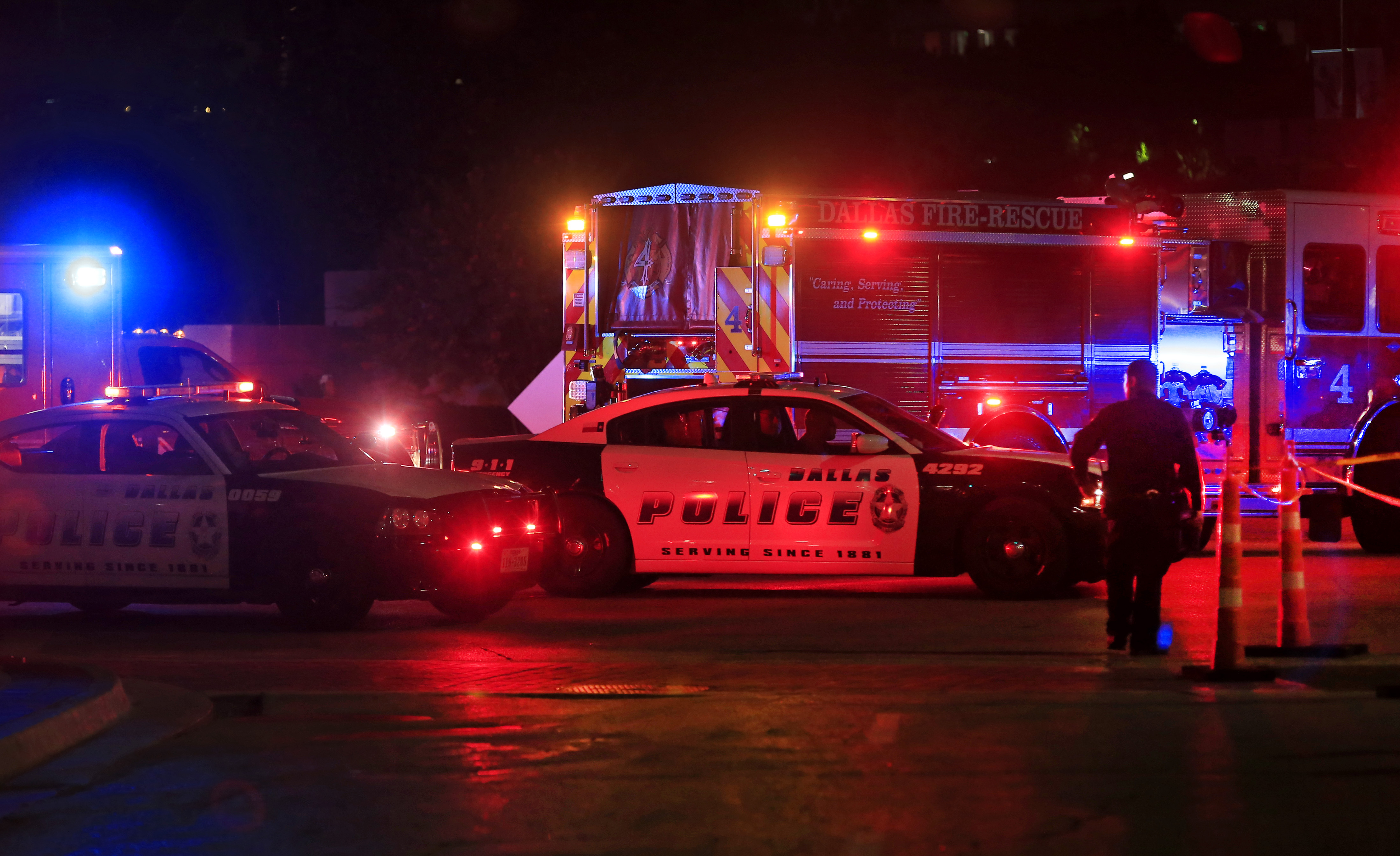 Five Police Officers Killed During Anti-Police Brutality March In Dallas
