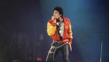 Michael Jackson Performs At Wembley