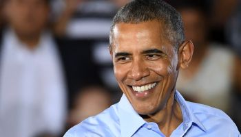 President Obama Campaigns For Hillary Clinton In Las Vegas Area