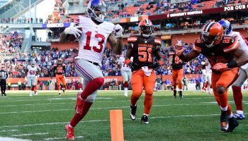 New York Giants v Cleveland Browns