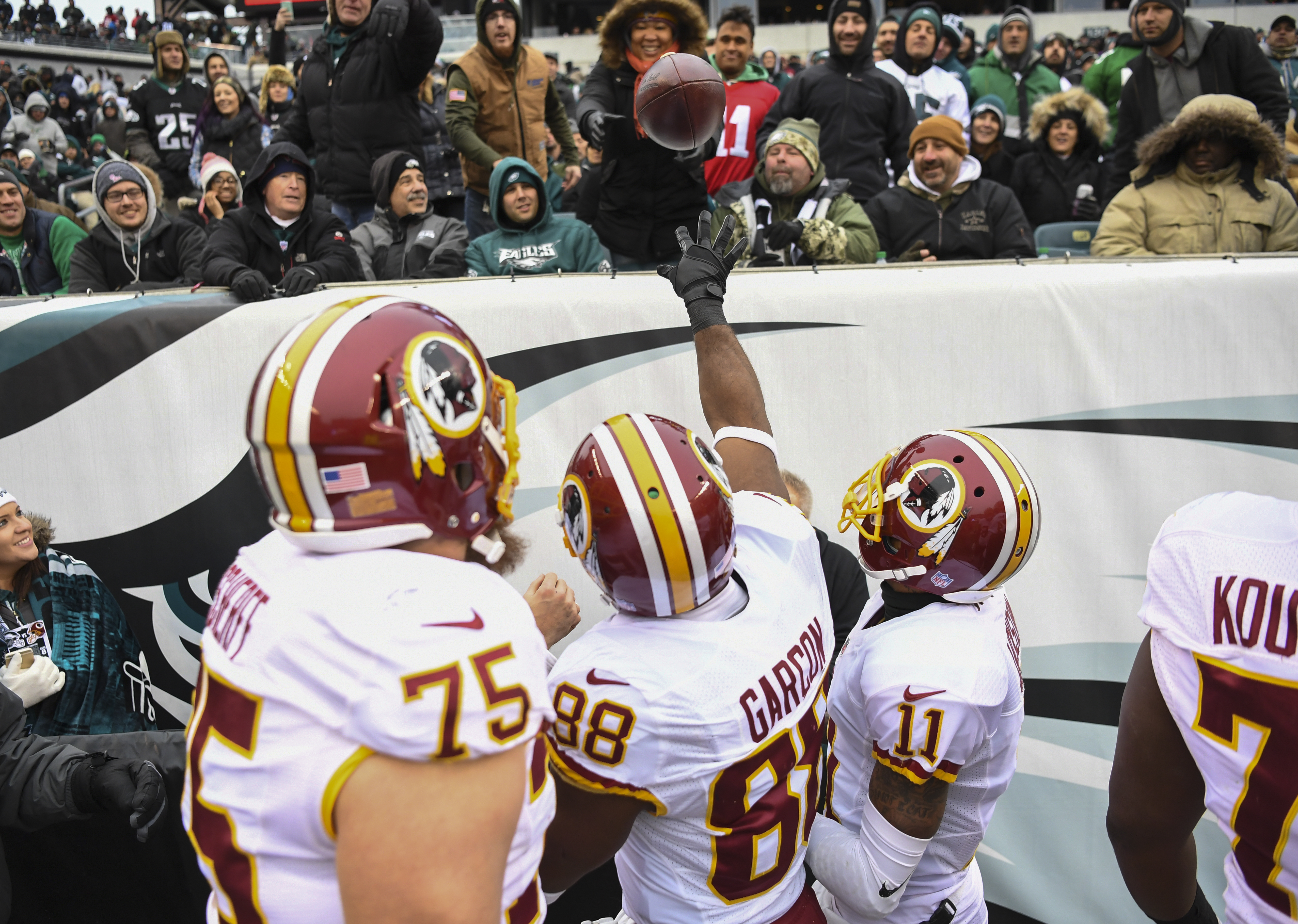 NFL-Washington Redskins at Philadelphia Eagles