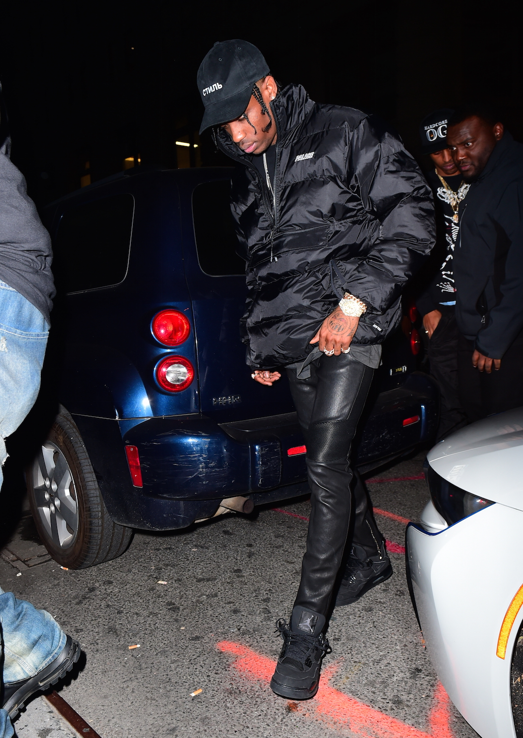 Rihanna and Travis Scott Spotted Together Once Again in NYC