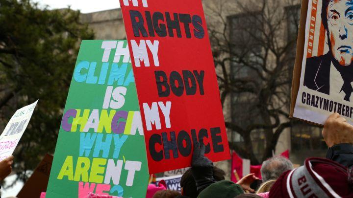 Washington D.C. Women's March On Washington