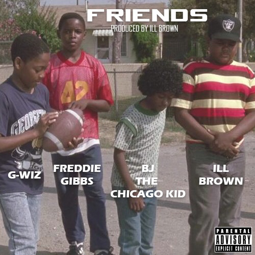 """Ill Brown """"Friends"""" Cover"""