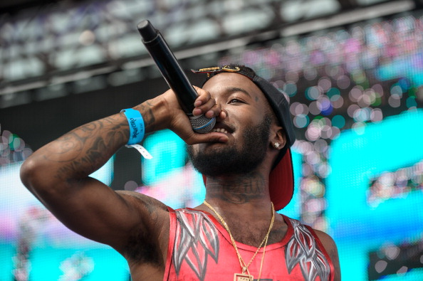 Shy Glizzy Performs at the 2013 Trillectro Festival in Washington, D.C.