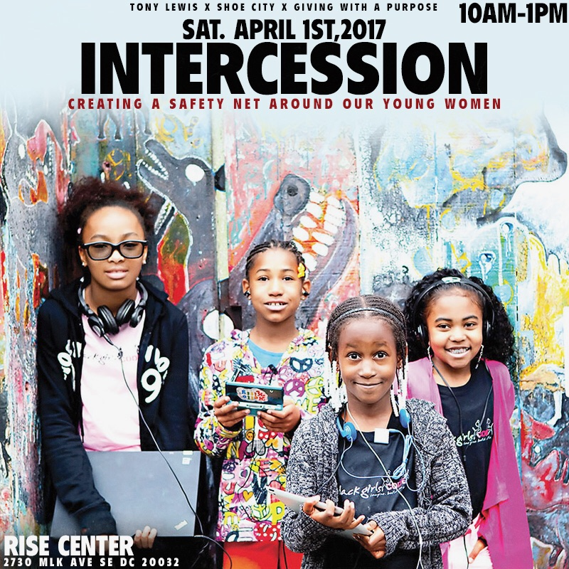 Intercession: Creating A Safety Net For Our Young Women FLyer