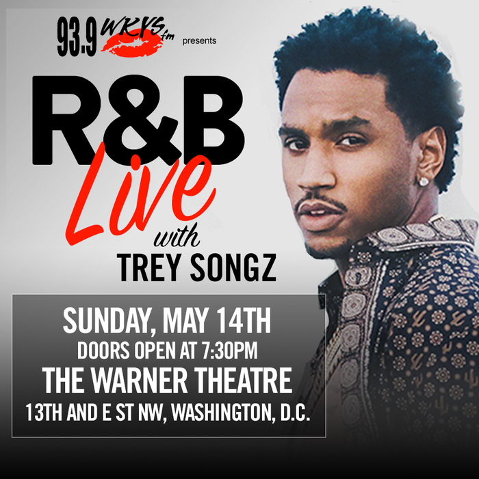 R&B Live with Trey Songz Graphic