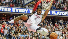 NBA Playoffs -Atlanta Wizards at Washington Wizards