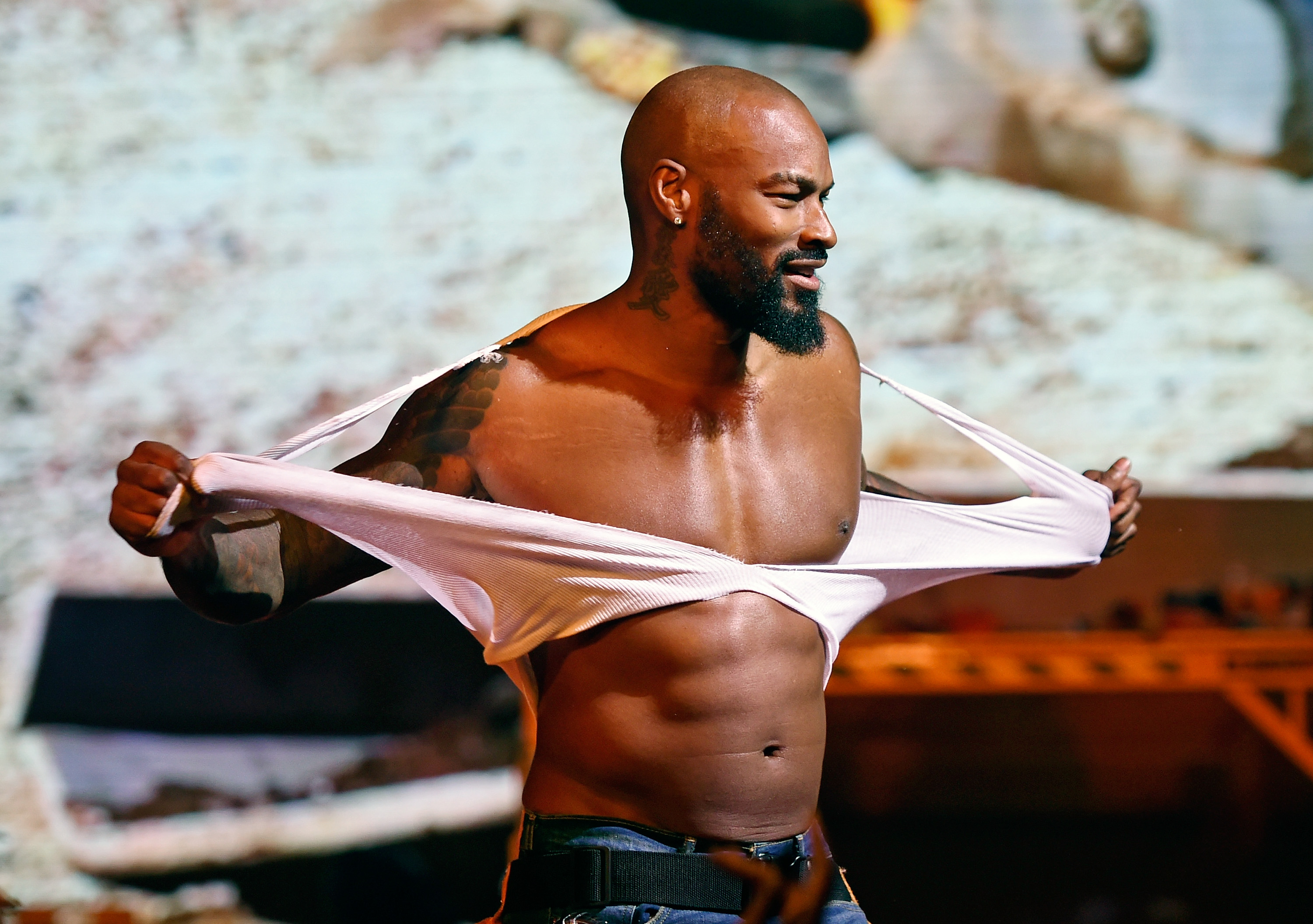 Model Tyson Beckford Begins Celebrity Guest Host In Residency With The Chippendales At The Rio In Las Vegas