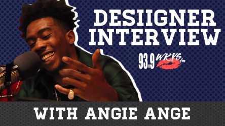 Angie Ange x Desiigner Interview