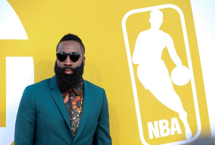 (SP)US-NEW YORK-NBA AWARDS