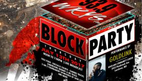 KYS Block Party w/ Papa Johns Logo
