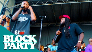 Goldlink At The 2017 #KYSBlockParty