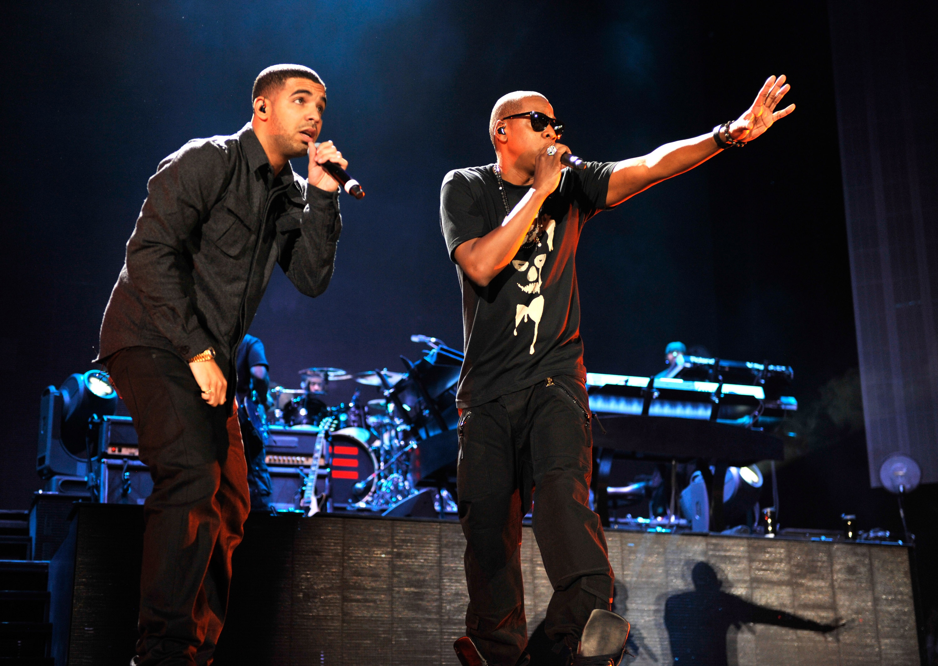 Jay-Z and Eminem 'Home & Home' Concert - New York - Show