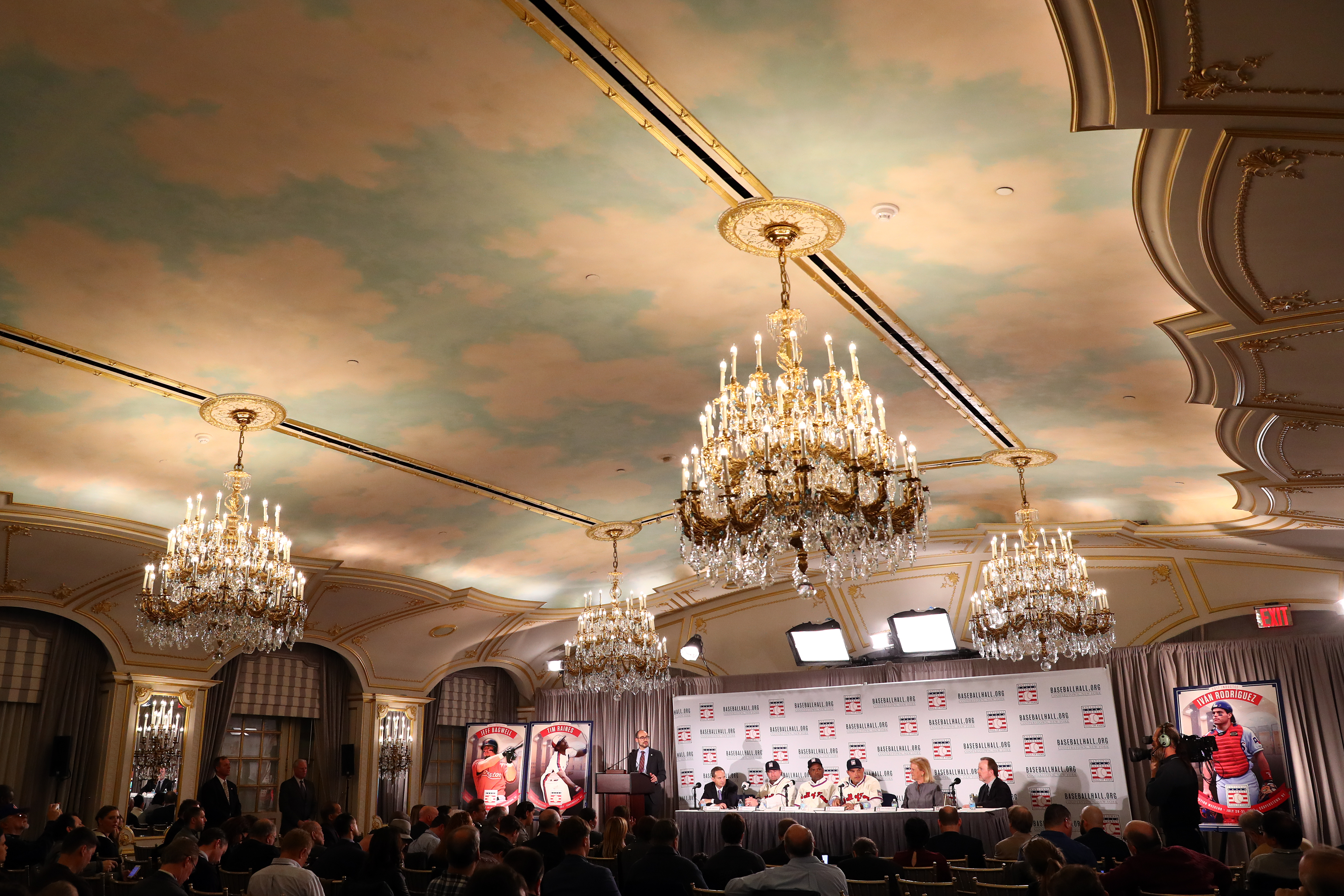 2017 Hall of Fame Inductee Press Conference