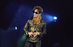 Prince Performs At The Hollywood Bowl