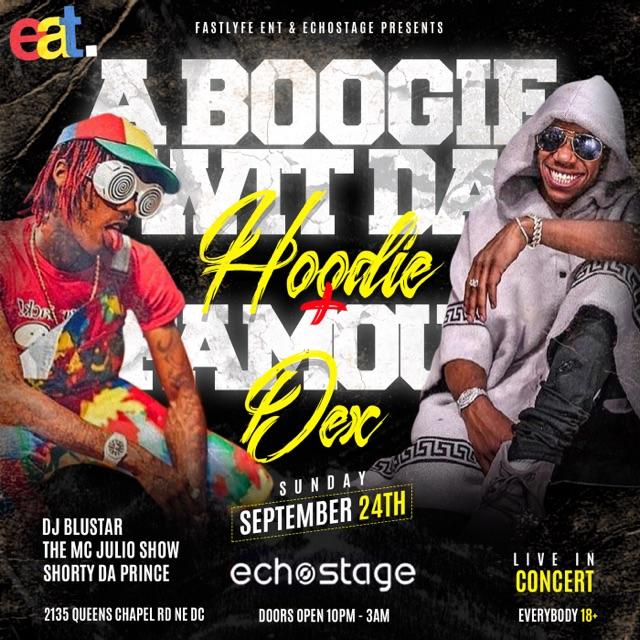 ABOOGIE W/ DA HOODIE @ ECHO STAGE