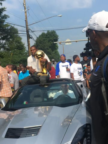 Seat Pleasant Honors Kevin Durant
