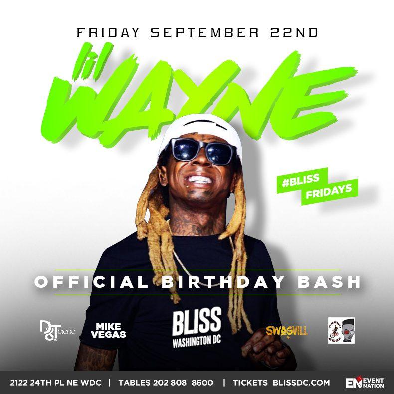 Lil Wayne At Bliss