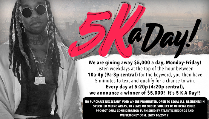 5k a day