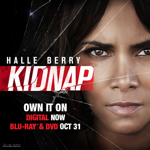 """""""Kidnap"""" Starring Halle Berry Blu-Ray Combo Pack"""