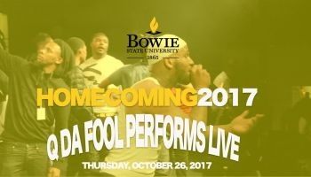 Q Da Fool At Bowie State University Homecoming