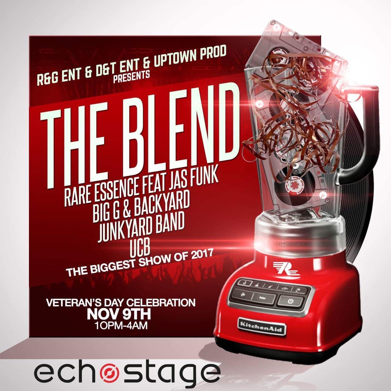 Rare Essence & Backyard Band At EchoStage
