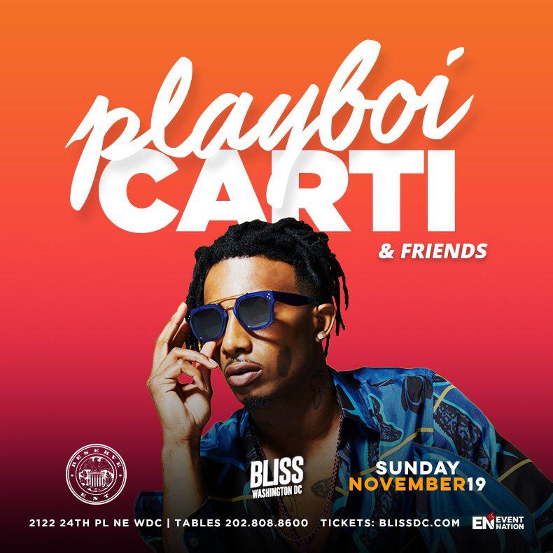 03011e824182b6 Playboi Carti at Bliss!