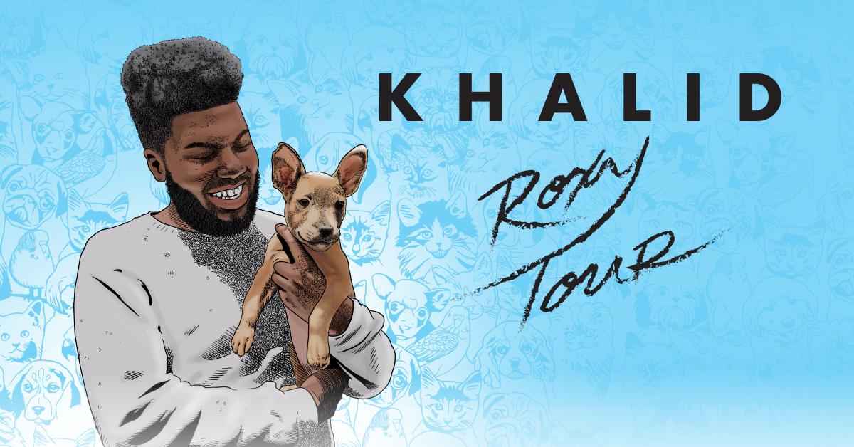 "Khalid ""The Roxy Tour"""