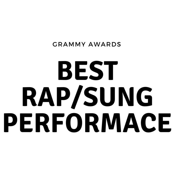 Grammy Rap/Sung Performance