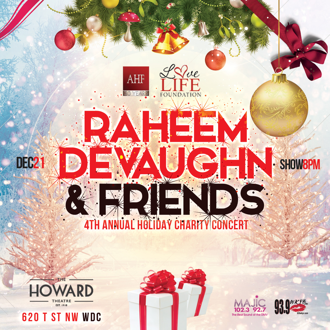 Raheem DeVaughn & Friends 4th Annual Holiday Concert