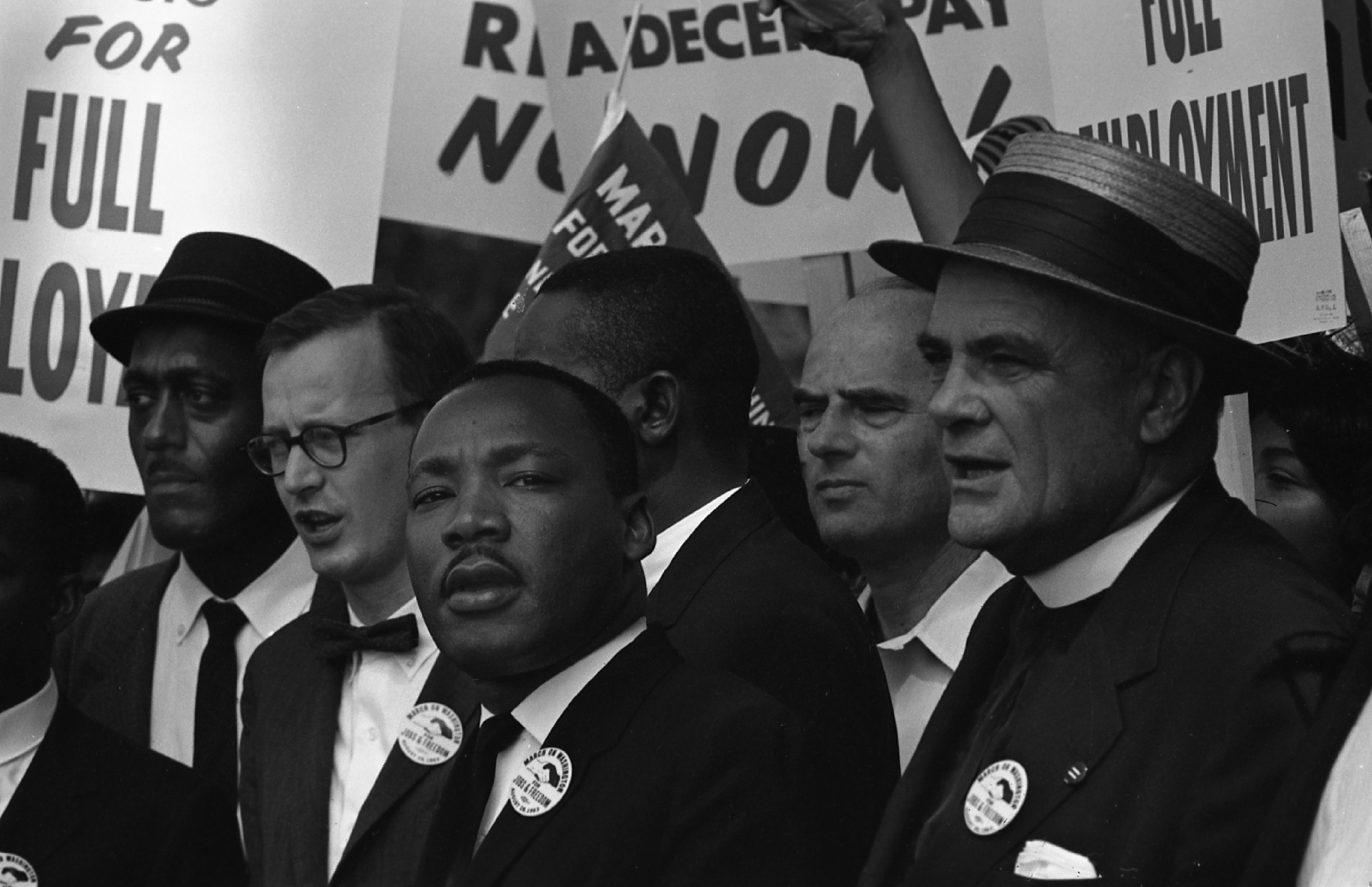 Martin Luther King, Jr. At The March On Washington